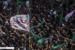 Photos of Ashura Mourning Rituals in Karbala
