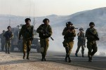 Zionist Regime Forces Attack Peaceful Demonstration in West Bank Village