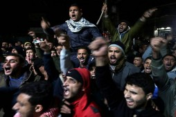 Protests Erupt in Palestine as Palestinians Respond to Trump's Decision with Fury